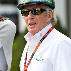 Sir Jackie Stewart.<br /> Round 1 - opening day of the 2015 Formula 1 Rolex Australian Grand Prix at The circuit of Albert Park, Melbourne, Victoria on the 12th March 2015.<br /> Wayne Neal | SportPix.org.uk