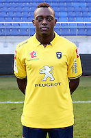 Jerome ROUSSILLON - 04.10.2014 - Photo officielle Sochaux - Ligue 2 2014/2015<br /> Photo : Icon Sport