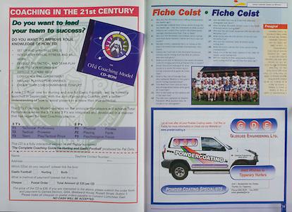 All Ireland Senior Hurling Championship Final,.09.09.2001, 9th September 2001,.Minor Cork 2-10, Galway 1-8,.Senior Tipperary 2-18, Galway 2-15,  .09092001AISHCF,.Gleedee Engineering Limited,