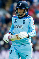 8 June 2019_cricket_CWC 2019_England v Bangladesh<br /> <br /> Joe Root,  walks off, out for 21<br /> in the ICC Cricket World Cup at Cardiff<br /> <br /> pic © winston bynorth