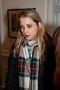 DAISY DE VILLENEUVE, Book launch for Isabella Blow- A Life in Fashion. Book by Lauren Goldstein Crowe. Henrietta St. London. 23 February 2011. -DO NOT ARCHIVE-© Copyright Photograph by Dafydd Jones. 248 Clapham Rd. London SW9 0PZ. Tel 0207 820 0771. www.dafjones.com.