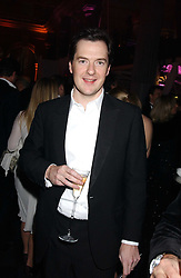 GEORGE OSBORNE MP at the Conservative Party's Black & White Ball held at Old Billingsgate, 16 Lower Thames Street, London EC3 on 8th February 2006.<br />
