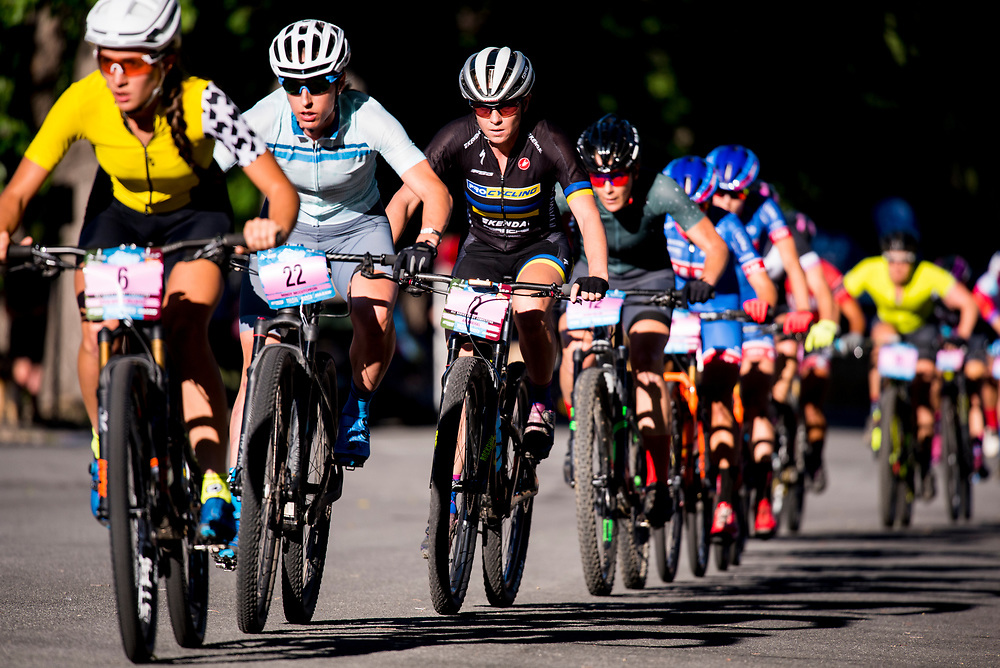 The Pro Women's Fat Tire Crit kicked off the fun on Friday night.