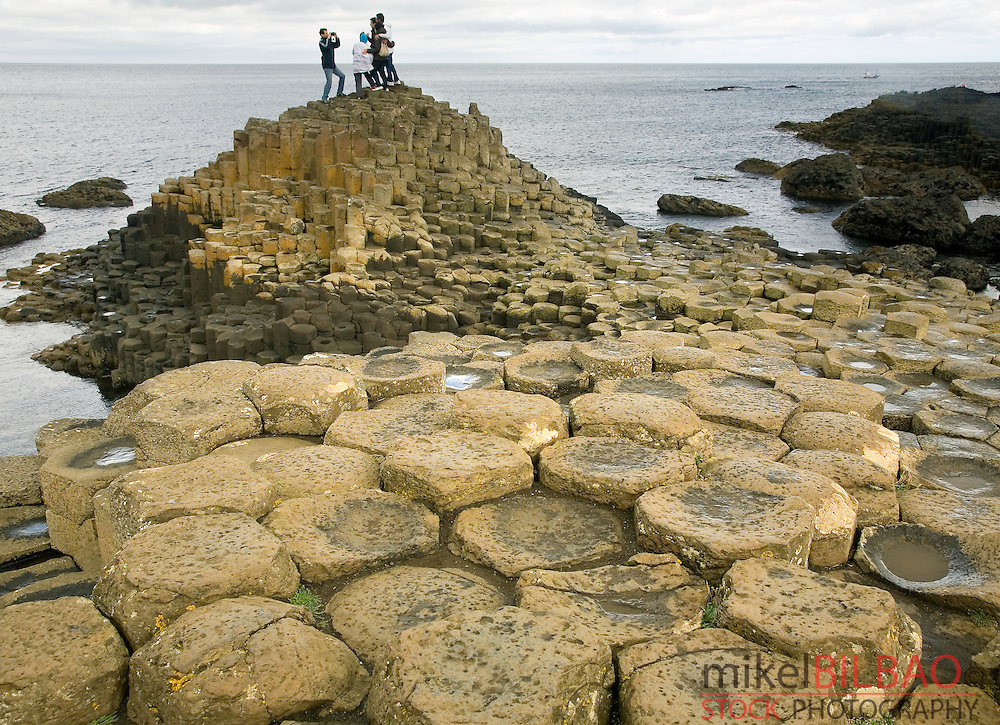 Giant&acute;s Causeway.<br /> Northern Ireland, Europe.