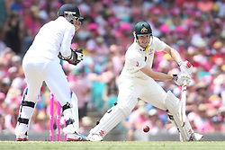 © Licensed to London News Pictures. 05/01/2014. George Bailey batting during day 3 of the 5th Ashes Test Match between Australia Vs England at the SCG on 5 January, 2013 in Melbourne, Australia. Photo credit : Asanka Brendon Ratnayake/LNP