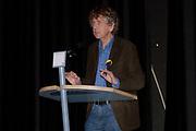 Presentatie Kuifje - De Zonnetempel - De Musical in het Wereldmuseum in Rotterdam.<br /> <br /> Op de foto:<br /> <br />  Seth Gaaikema - teksten