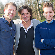 NLD/Amsterdam/20151215 -  Nominatielunch Musical Awards Gala 2016, Rene van Kooten, Sander de Heer, Alex Klaasen