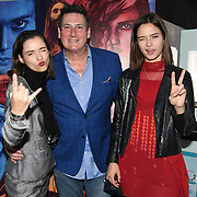 Tony Hadley, Bloom Twins arrives at Tresor Paris In2ruders - launch at Tresor Paris, 7 Greville Street, Hatton Garden, London, UK 13th September 2018.