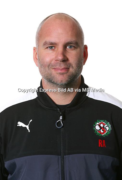 Rober Axelsson<br /> Halvfigur<br /> @Leverans<br /> Allsvenskan 2016<br /> Fotboll