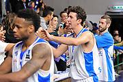 DESCRIZIONE : Eurocup 2015-2016 Last 32 Group N Dinamo Banco di Sardegna Sassari - Cai Zaragoza<br /> GIOCATORE : Giacomo Devecchi<br /> CATEGORIA : Postgame Ritratto Esultanza<br /> SQUADRA : Dinamo Banco di Sardegna Sassari<br /> EVENTO : Eurocup 2015-2016<br /> GARA : Dinamo Banco di Sardegna Sassari - Cai Zaragoza<br /> DATA : 27/01/2016<br /> SPORT : Pallacanestro <br /> AUTORE : Agenzia Ciamillo-Castoria/C.Atzori
