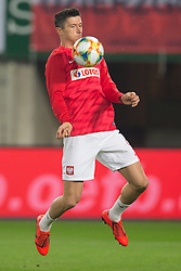 March 21, 2019 - Vienna, Austria - Robert Lewandowski of Poland during the UEFA European Qualifiers 2020 match between Austria and Poland at Ernst Happel Stadium in Vienna, Austria on March 21, 2019. (Credit Image: © Foto Olimpik/NurPhoto via ZUMA Press)