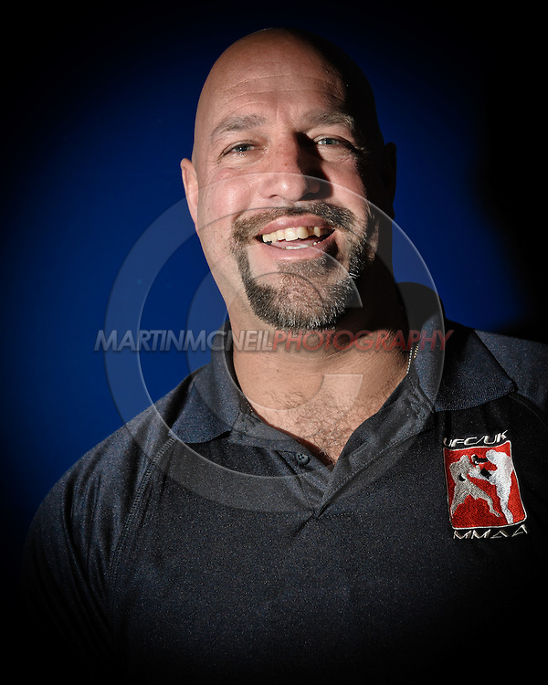 A portrait of mixed martial arts referee Dan Miragliotta