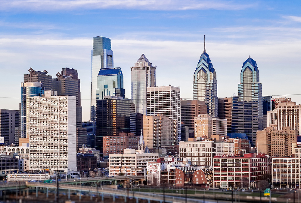 Philadelphia skyline, Pennsylvania, USA.