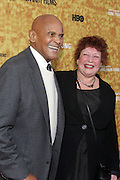 "October 6 New York, NY- Actor/Civil Rights Activist Harry Belafonte and Film Direstor Susanne Rostock at the HBO Premiere of "" Sing Your Song"" chronicling the life & iconic career of legendary entertainer & civil rights hero Harry Belafonte held at the Apollo Theater on October 6, 2011 in Harlem, New York City. Photo Credit: Terrence Jennings"