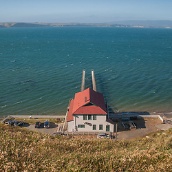 Historic Point Reyes Lifeboat Station, Pt. Reyes, Marin County, California, US