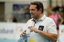 20180110 NED: CEV CUP Sliedrecht Sport - Beziers Angels VB: Sliedrecht<br />Cyril Ong Vathanara, headcoach of Beziers VB<br />&copy;2018-FotoHoogendoorn.nl / Pim Waslander