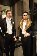 OLLIE PULMER; PETER TAYLOR, The Royal Caledonian Ball 2013. The Great Room, Grosvenor House. Park lane. London. 3 May 2013.