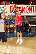 Ritiro per la preparazione ad Eurobasket 2007 Allenamento pomeridiano 30-07-2007<br /> Stefano Mancinelli