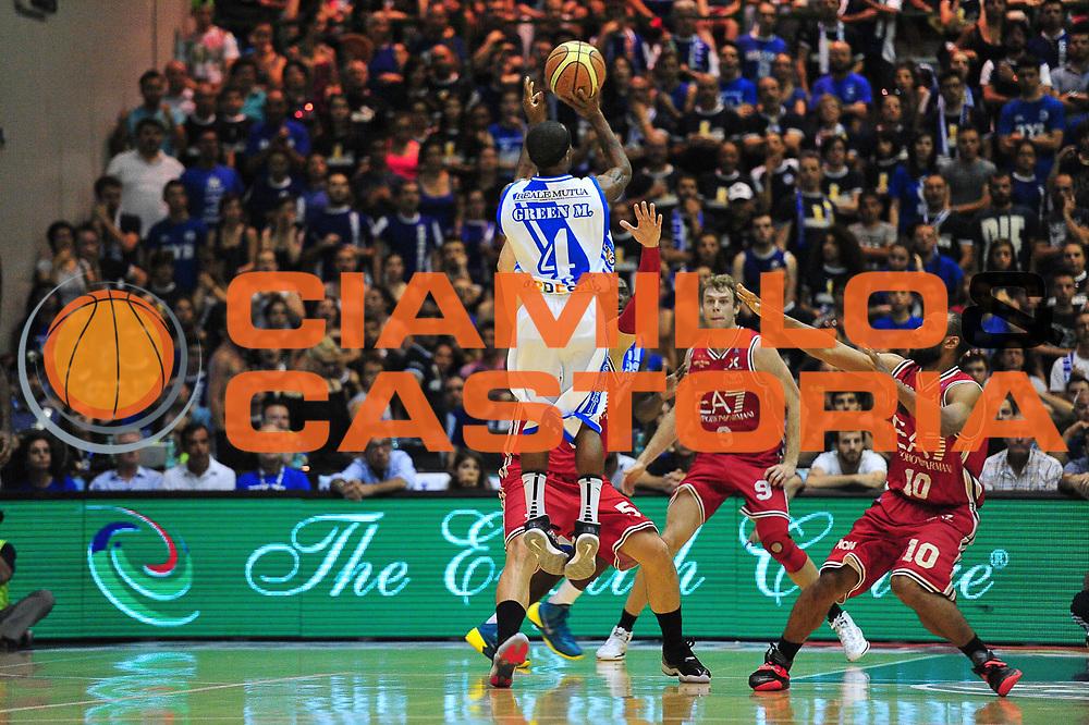 DESCRIZIONE : Campionato 2013/14 Semifinale GARA 6 Dinamo Banco di Sardegna Sassari - Olimpia EA7 Emporio Armani Milano<br /> GIOCATORE : Marques Green<br /> CATEGORIA : Tiro Tre Punti Controcampo<br /> SQUADRA : Dinamo Banco di Sardegna Sassari<br /> EVENTO : LegaBasket Serie A Beko Playoff 2013/2014<br /> GARA : Dinamo Banco di Sardegna Sassari - Olimpia EA7 Emporio Armani Milano<br /> DATA : 09/06/2014<br /> SPORT : Pallacanestro <br /> AUTORE : Agenzia Ciamillo-Castoria / M.Turrini<br /> Galleria : LegaBasket Serie A Beko Playoff 2013/2014<br /> Fotonotizia : DESCRIZIONE : Campionato 2013/14 Semifinale GARA 6 Dinamo Banco di Sardegna Sassari - Olimpia EA7 Emporio Armani Milano<br /> Predefinita :