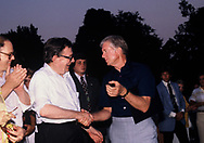 Lane Kirkland, and Jimmy Carter at a Labor Day picnic on the South Lawn of the White House in September 1980<br /> Photo by Dennis Brack<br /> <br /> by Dennis Brack