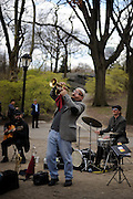 Richard Rasheed Howard and the guys performing a killer jazz set down in Central Park, New York City.