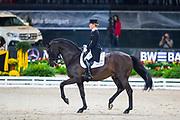 Helen Langehanenberg - Damsey FRH<br /> Stuttgart German Masters 2018<br /> © DigiShots