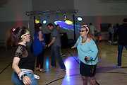 Synod Shumer, left and Mary Catanzaro on the dancefloot at the Shermer High School 1986 Spring Dance that's part of the Ferris Fest at the Athletico Center on, Friday, March 20, 2016, in Northbrook. (Photo by Rob Hart)