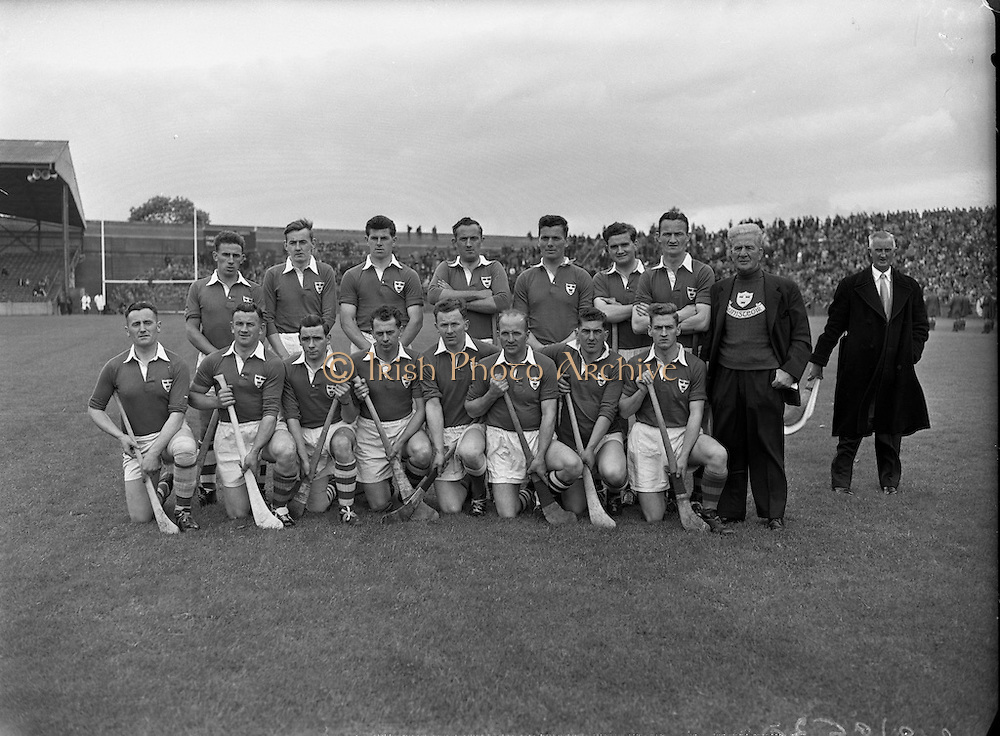 New Hogan Stand and Flag Pageant at Croke Park<br /> Also Railway Cup Final - Munster vs Connaught <br /> Munster Team<br /> 07/06/1959