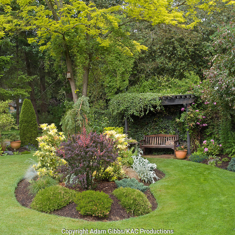Arbour kac productions kathy adams clark for Small round garden design