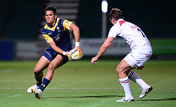 Afeafe Haisla Lokotui of Worcester Cavaliers - Mandatory by-line: Alex James/JMP - 04/09/2017 - RUGBY - Sixways - Worcester, England - Worcester Cavaliers  v Leicester Tigers - A League