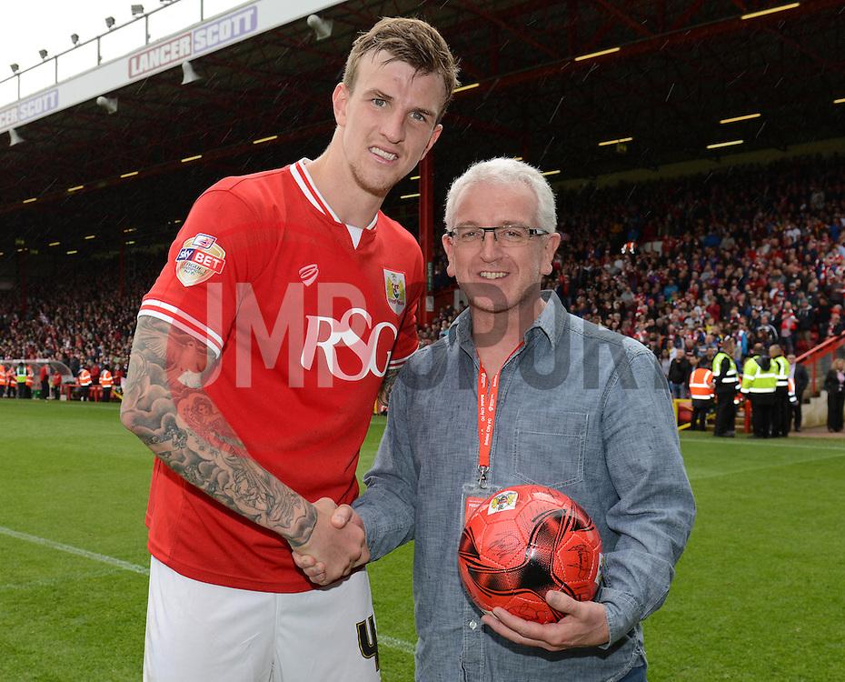 Man of the Match - Photo mandatory by-line: Dougie Allward/JMP - Mobile: 07966 386802 - 03/05/2015 - SPORT - Football - Bristol - Ashton Gate - Bristol City v Walsall - Sky Bet League One