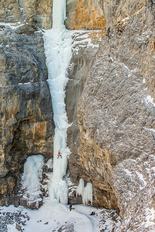 Brent Peters Ice Climbing Fang and Fist