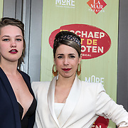 NLD/Amsterdam/20190414 - Premiere 't Schaep met de 5 Pooten, Kiki van Deursen en........
