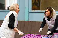 Den Dolder, 11-03-2016<br /> <br /> Princess Beatrix and other members of the Dutch Royal Family joined NL DOES voluntary Day.