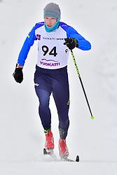 VOVCHYNSKYI Grygorii, UKR, LW8 at the 2018 ParaNordic World Cup Vuokatti in Finland
