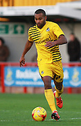 Bristol Rovers striker Jermaine Easter during the Sky Bet League 2 match between Crawley Town and Bristol Rovers at the Checkatrade.com Stadium, Crawley, England on 21 November 2015. Photo by Bennett Dean.