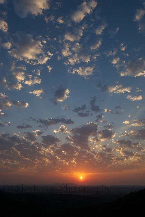 Big skies over Petit Jean State Park near Morrilton, AR
