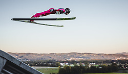 29.09.2018, Energie AG Skisprung Arena, Hinzenbach, AUT, FIS Ski Sprung, Sommer Grand Prix, Hinzenbach, im Bild Stefan Hula (POL) // Stefan Hula of Poland during FIS Ski Jumping Summer Grand Prix at the Energie AG Skisprung Arena, Hinzenbach, Austria on 2018/09/29. EXPA Pictures © 2018, PhotoCredit: EXPA/ Stefanie Oberhauser
