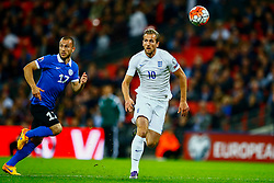 Harry Kane of England is caught off side - Mandatory byline: Jason Brown/JMP - 07966 386802 - 09/10/2015- FOOTBALL - Wembley Stadium - London, England - England v Estonia - Euro 2016 Qualifying - Group E