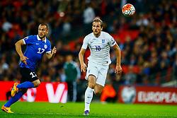 Harry Kane of England is caught off side - Mandatory byline: Jason Brown/JMP - 07966 386802 - 09/10/2015- FOOTBALL - Wembley Stadium - London, England - England v Estonia - Euro 2016 Qualifying - Group E