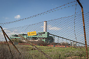 """Brindisi, Feb. 2016 - La recente Centrale Elettrica a Carbone dell'Enel """"Federico II"""" situata a Sud della Città di Brindisi. L'utilizzo del carbone per la produzione di energia nel nostro Paese è, purtroppo, ancora molto diffuso."""