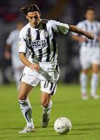 "Bogdani Erjion (Siena)<br /> Italian ""Serie A"" 2006-07<br /> 14 Oct 2006 (match day 6)<br /> Siena-Messina (3-1)<br /> ""A.Franchi"" Stadium-Siena-Italy<br /> Photographer Luca Pagliaricci INSIDE"