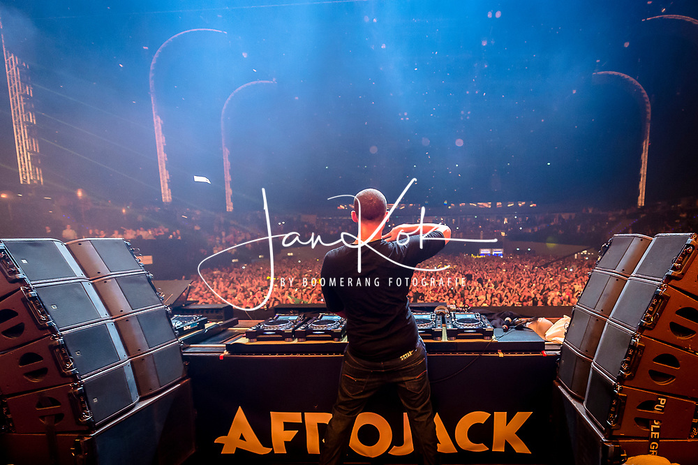 Afrojack viert zijn 30e verjaardag in Ahoy Rotterdam