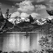Glacier National Park, B/W