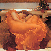 Frederic Leighton 1830-1896 Flaming June 1895