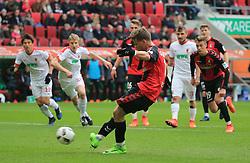 18.03.2017, 1.BL, FC Augsburg vs SC Freiburg, WWK Arena Augsburg, Fussball, Sport, im Bild: ...Elfmeter fuer Florian Niederlechner (SC Freiburg) 0:1...*Copyright by:  Philippe Ruiz..Oberbrunner Strasse 2.81475 MŸnchen, .Tel: 089 745 82 22, .Mobil: 0177 29 39 408..( MAIL:  philippe_ruiz@gmx.de ) ..Homepage: www.sportpressefoto-ruiz.de. (Credit Image: © Philippe Ruiz/Xinhua via ZUMA Wire)