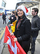 14.OCTOBER.2012. LIVERPOOL<br /> <br /> KYM MARSH ATTENDS THE LIVERPOOL TEXT A SANTA CHARITY RUN.<br /> <br /> BYLINE: EDBIMAGEARCHIVE.CO.UK<br /> <br /> *THIS IMAGE IS STRICTLY FOR UK NEWSPAPERS AND MAGAZINES ONLY*<br /> *FOR WORLD WIDE SALES AND WEB USE PLEASE CONTACT EDBIMAGEARCHIVE - 0208 954 5968*