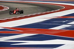 October 20, 2017 - Austin, United States of America - Motorsports: FIA Formula One World Championship 2017, Grand Prix of United States, .#7 Kimi Raikkonen (FIN, Scuderia Ferrari) (Credit Image: © Hoch Zwei via ZUMA Wire)