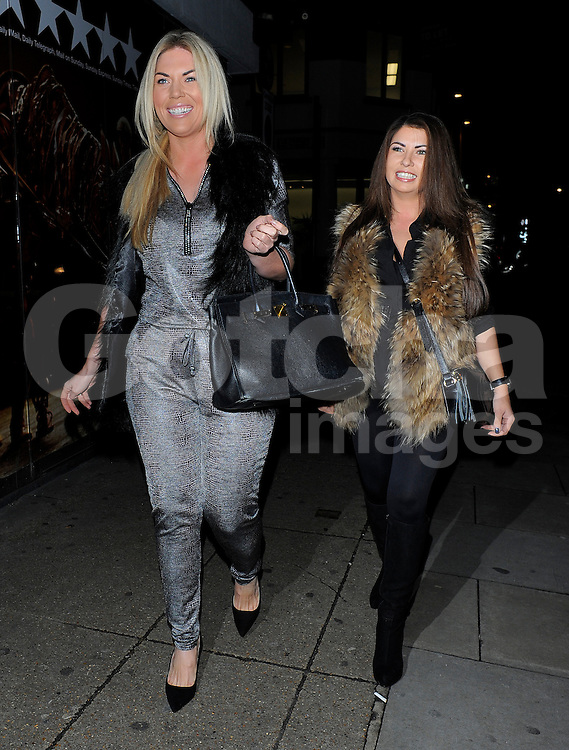 TOWIE star Frankie Essex attends the Now Magazine Christmas Party at The Drury Club in London, UK. 25/11/2014<br />