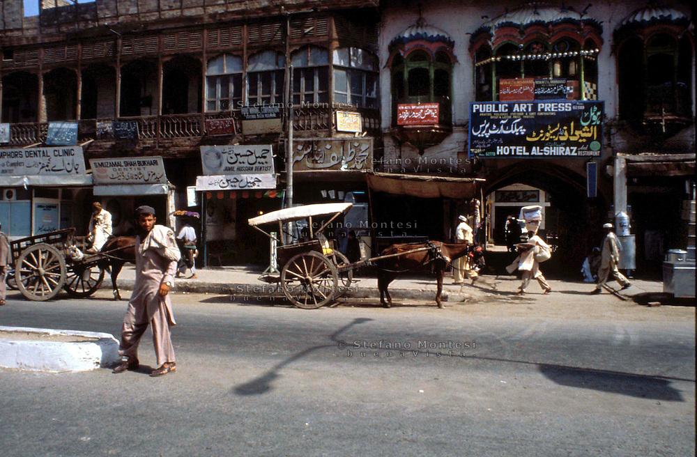 Pakistan  Peshawar  1986..Old City..